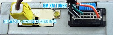 GM XM Tuner