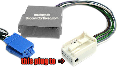 aa2 har 12 pin quadlock to 8 pin iso adapter cable for audi and vw  view (1) more related images