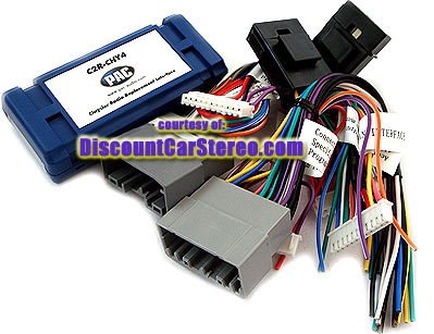 C2R-CHY4 Radio Replacement Interface for Select 2007-Up Chrysler ...