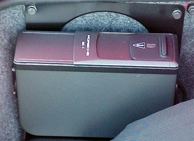 Porsche CD Changer
