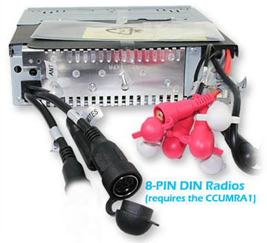 m303 ccumra1 wired remote retention harness for clarion marine radios Clarion Mobile Electronics at bayanpartner.co