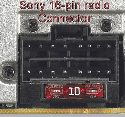 sony16_pin bhson16 replacement harness for select sony 16 pin radios radio sony 16 pin wiring harness diagram at webbmarketing.co