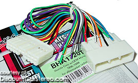 BHA1720T Aftermarket Radio Install Harness in select 1986-98