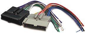BHA1770 Aftermarket Radio Install Harness in select 1986-00 Ford