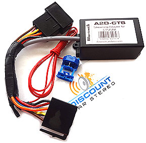 A2D-CTS Audio Streaming for 2003-07 Cadillac CTS and SRX with XM Module
