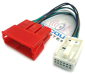 AA2-HAR 12-pin Quadlock to 8-pin iSO adapter cable for Audi & VW