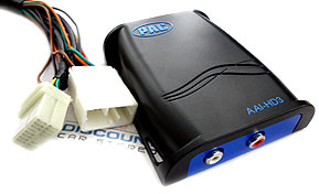 AAI-HD3 Auxiliary Input Adapter for Select 2003-12 Honda and Acura