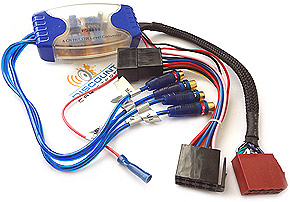 AiH-CONTI Amplifier integration harness for Continental Radios