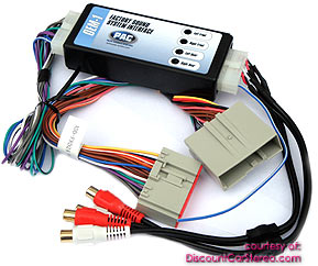 PAC AOEM-FRD24 Add-An-Amp Interface for Select 2004-12 Fords
