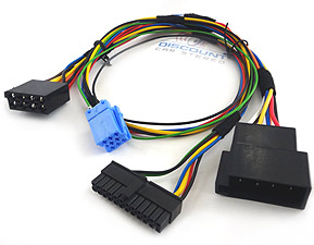 bt bkrtmck installation harness for motorola parrot kits to select rh discountcarstereo com Becker CDR-220 Cables Porsche Boxster
