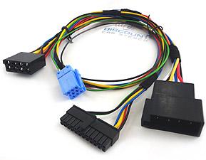 bt bkrnov installation harness for novero kits on select becker rh discountcarstereo com Becker CDR-220 Car Stereo
