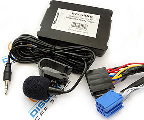 BT45-BKR Bluetooth Hands-Free/Steaming Kit for Becker Aux Ready Radios