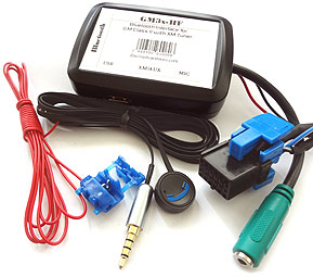 GM3x-HF Bluetooth Charging Kit for select GM with XM Tuner Module/CD Changer