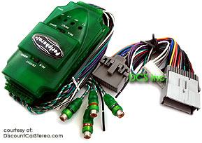 GMAA2 Add-an-Amp Interface for Select 2000-08 GM Class II