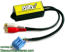 HONAUX DMX V Aux Input Adapter For HondaAcura - 2003 acura tl aux input