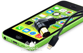 iL-CR12 Apple Lightning Adapter for Porsche CR1 and CR2 Radios