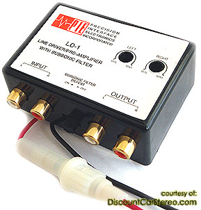 LD-1 Adjustable Line Driver