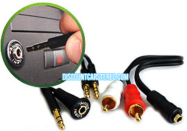 iSimple iS335 Universal 3.5mm Dash mount Audio Kit