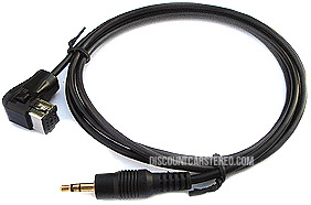 PIO/P-3.5S Auxiliary Input Adapter for select Pioneer Radios (4 ft)