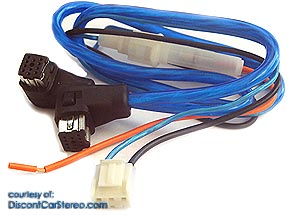 PIO/P-DIN2 CD Changer Cable for Pioneer P-BUS (2ft)