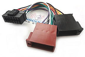 son18 iso_m sony 16 pin quick connect harness for select european vehicles