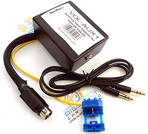 VOL-AUX Auxiliary Input Adapter for select 1984-00 Volvo