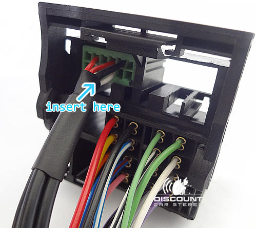 AiH-RNS Aftermarket Amp integration Harness for select RNS-e Radios