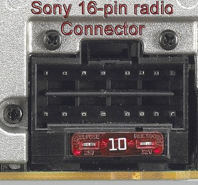 sony stereo wiring harness wiring diagram db Sony Stereo Wiring Diagram