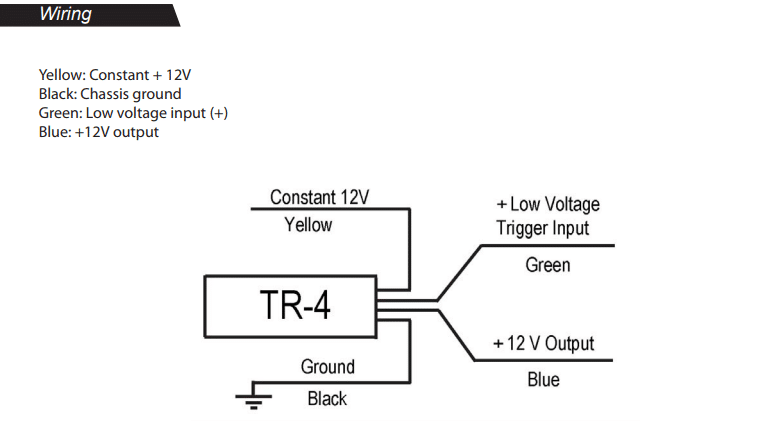 Wiring Diagram For Pac Tr-7