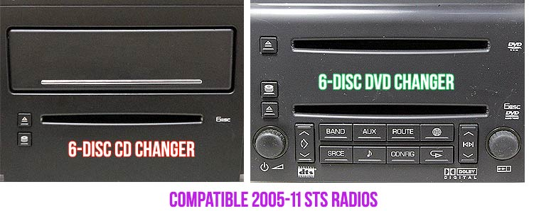 discount car stereo > music streaming > a2d-sts music streaming receiver  for 2005-11 cadillac sts with xm tuner  discount car stereo