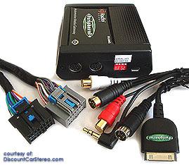 Isgm574 Ipod Bluetooth Hd Sirius Radio Gateway For Select 2006 11 Cadillac