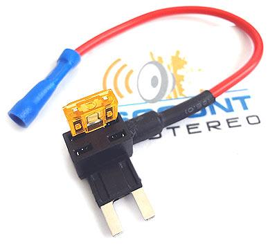 mini-tap automobile fuse box splitter