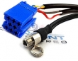 BLAU/8-3.5F Auxiliary Input Jack for Blaupunkt and Becker Radios