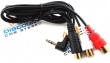 PX35RCA Audio input cable for iSimple Connect, Gateway and Dual Link