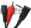 AC3WR6 3.5mm Male To RCA Audio Adapter Cable (3.5 ft.)