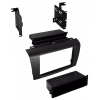BKMAZK844 Aftermarket Double DIN Radio Installation Kit for 2004-09 Mazda 3