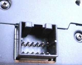 CD Changer 12-pin connector