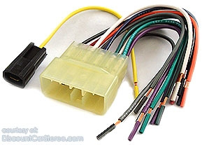 bha8900 aftermarket radio install harness in select 1955-94 subaru dl  and gl