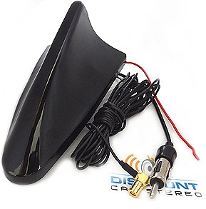 SFAS7x Universal Amplified AM, FM SiriusXM Shark Fin Antenna