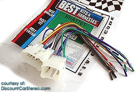 BHA1761 Aftermarket Radio Install Harness in select 1986-Up Toyota