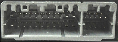 10-pin port on radio