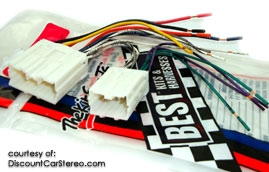 BHA9220 Aftermarket Radio Install Harness in select 1991-06 Volvo