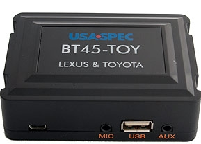 BT45-TOY Hands Free + Audio Streaming Kit for select 1998-08 Toyota, Lexus, Scion