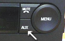 FORD/CAN AUX Auxiliary input Adapter for select 2005-09 Ford CAN Radios