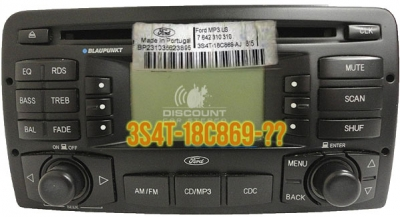 PXDXFB Auxiliary Kit for select 2000-04 Ford Blaupunkt Radios