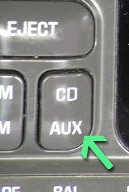 radio with aux button