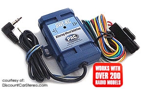 Radio Adapter PAC SWI-RC Car Stereo Steering Wheel Control Retention Interface